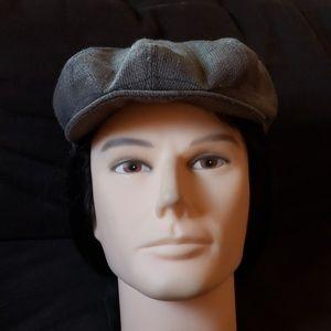 Vintage Italia Arte Della Lana newsboy hat medium